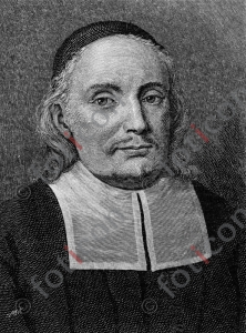 Portrait von Paul Gerhardt | Portrait of Paul Gerhardt  (foticon-portrait-0061-sw.jpg)