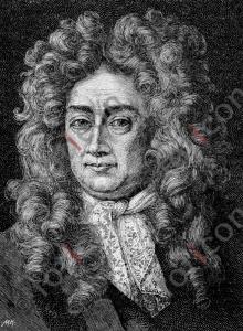 Portrait von Samuel von Pufendorf | Portrait of Samuel von Pufendorf  (foticon-portrait-0063-sw.jpg)