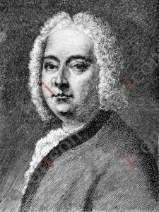 Portrait von Georg Friedrich Händel | Portrait von George Frideric Handel (foticon-portrait-0075-sw.jpg)