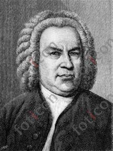 Portrait von Johann Sebastian Bach | Portrait von Johann Sebastian Bach (foticon-portrait-0076-sw.jpg)