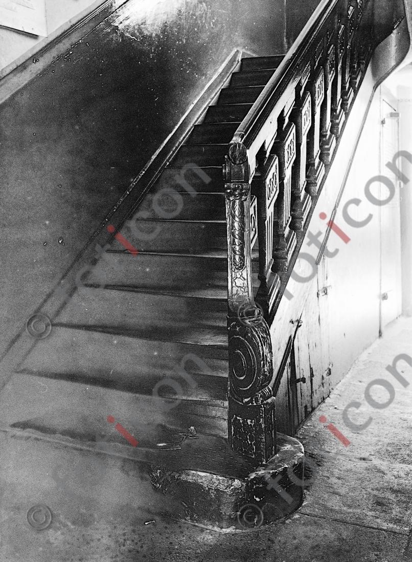 Treppe Ritterstraße 11 | &lt;br /&gt;<br /> Stairway Ritterstreet 11