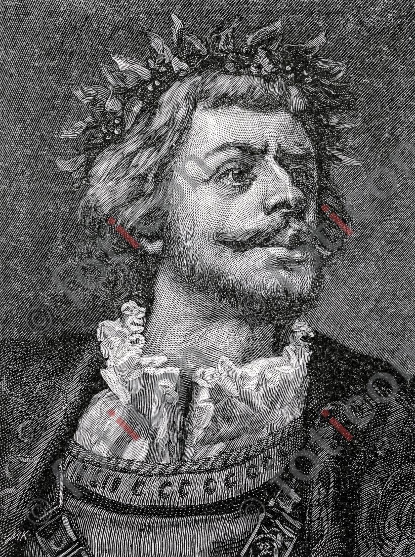 Ulrich von Hutten | Ulrich von Hutten - Foto foticon-portrait-0025-sw.jpg | foticon.de - Bilddatenbank für Motive aus Geschichte und Kultur