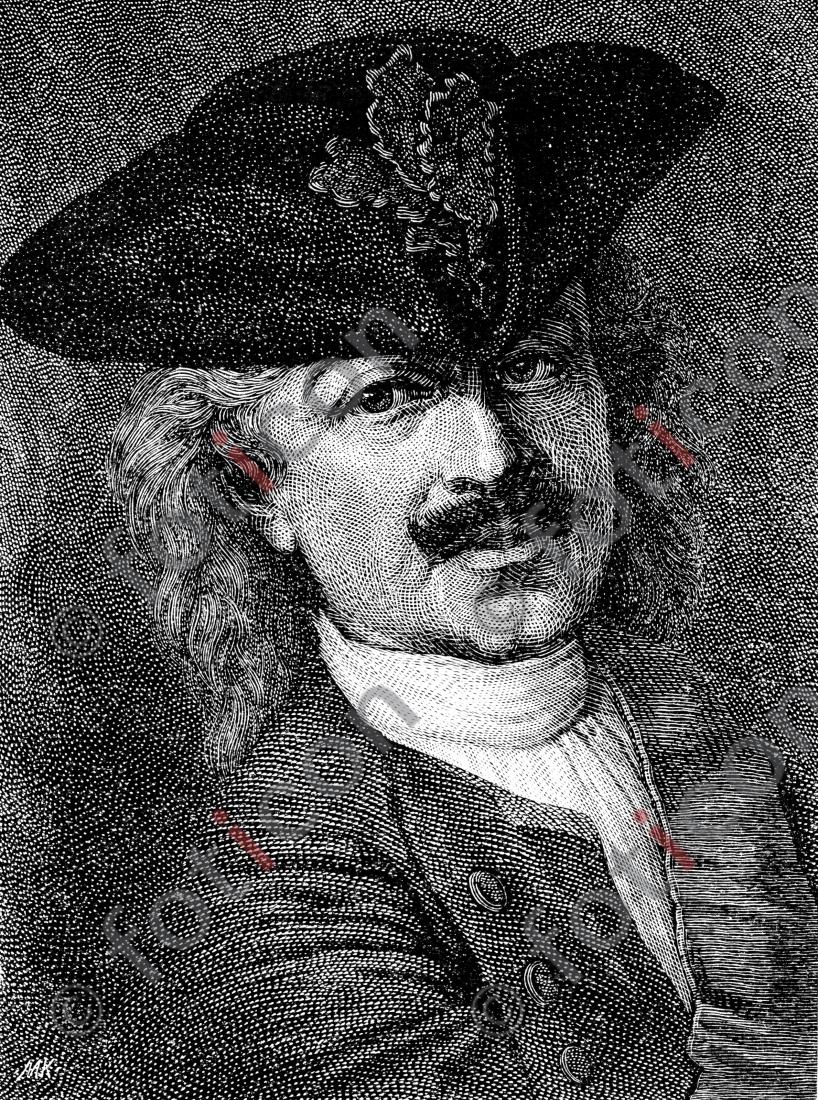 Portrait von Leopold I., Fürst von Anhalt-Dessau   Portrait of Leopold I, Prince of Anhalt-Dessau - Foto foticon-portrait-0072-sw.jpg   foticon.de - Bilddatenbank für Motive aus Geschichte und Kultur