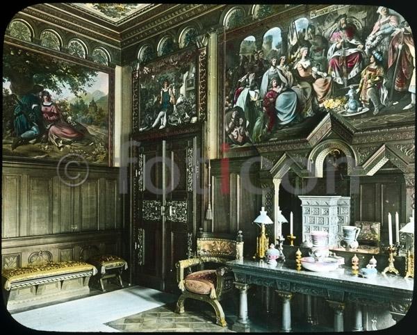 Badezimmer Auf Schloss Neuschwanstein | Bathroom At Neuschwanstein Castle
