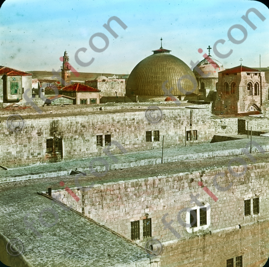 Dach der Grabeskirche | Roof of the Church of the Holy Sepulcher